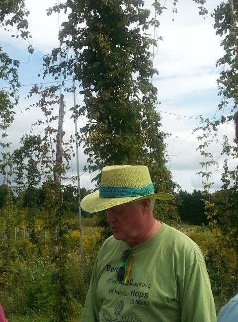 Mike Driscoll of Harvest Hops